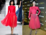 Krysten Ritter In Christian Dior - 2012 Entertainment Weekly Pre-Emmy Party