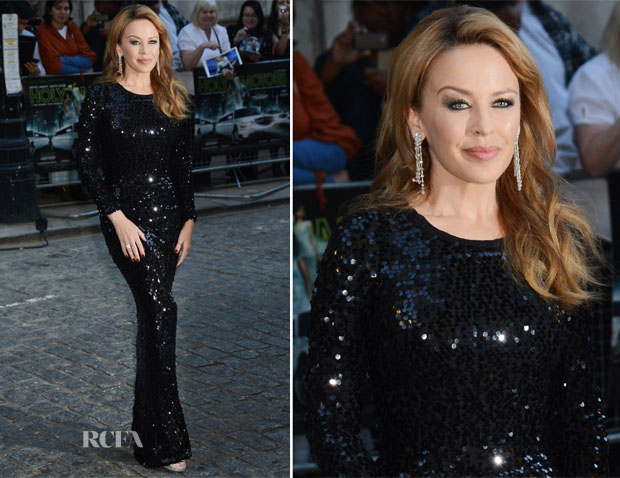 Kylie Minogue In Dolce & Gabbana - 'Holy Motors' London Premiere