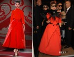Lady Gaga In Ulyana Sergeenko Couture - Out In London