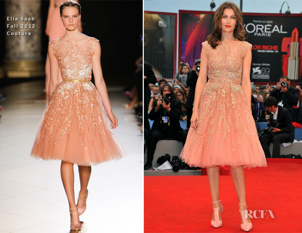 Laetitia Casta In Elie Saab Couture - 'The Master' Venice Film Festival Premiere
