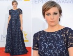 Lena Dunham In Prada - 2012 Emmy Awards
