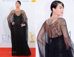 Lena Headey In Armani Privé - 2012 Emmy Awards