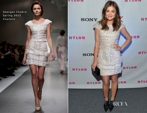 Lucy Hale Georges Chakra Couture