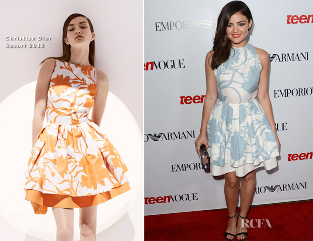 Lucy Hale In Christian Dior - Teen Vogue's 10th Anniversary Annual Young Hollywood Party2