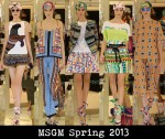 MSGM Spring 2013
