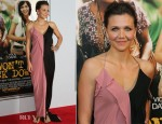 Maggie Gyllenhaal In Lanvin - 'Won't Back Down' New York Premiere