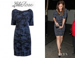 Mandy Moore's Lela Rose Sheath Dress