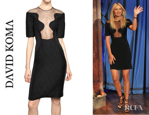 Maria Sharapova's David Koma Dress