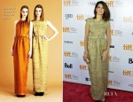 Marisa Tomei In Jonathan Saunders - 'Inescapable' Toronto Film Festival Premiere