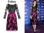 Michelle Dockery's Erdem 'Ariel 'Dress