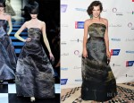 Milla Jovovich In Armani Privé - 2012 DreamBall Gala