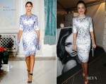 Miranda Kerr In Erdem - Fashion's Night Out With Kora Range
