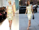 Miranda Kerr In Erdem - Out In Sydney