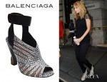 Nicole Richie's Balenciaga Heeled Sandals