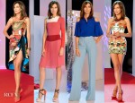Nieves Alvarez In Spring 2013 Looks On 'Solo Moda'