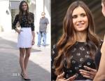 Nina Dobrev In Dolce & Gabbana - Extra