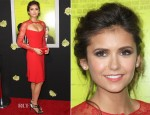 Nina Dobrev In Reem Acra - 'The Perks of Being a Wallflower' LA Premiere