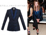 Nina Garcia's Stella McCartney Domiziana Single Breasted Jacket