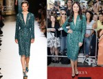 Olga Kurylenko In Elie Saab Couture - 'To The Wonder' Toronto Film Festival Premiere