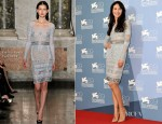 Olga Kurylenko In Emilio Pucci - 'To The Wonder' Venice Film Festival Photocall