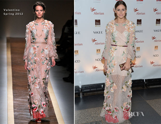 Olivia Palermo In Valentino - 2012 Brazil Foundation Gala Party