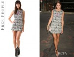Olivia Palermo's Free People Mod Squad Ethnic Mini Dress