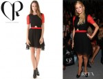Paris Hilton's Charlotte Ronson Cutout Dress