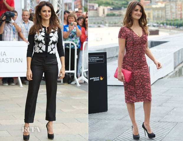 Penelope Cruz In L'Wren Scott - 60th San Sebastian Film Festival