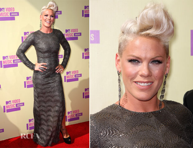 Pink In Stella McCartney - 2012 MTV Video Music Awards