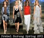 Prabal Gurung Spring 2013