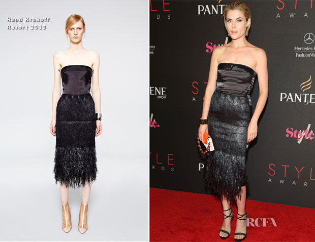 Rachael Taylor In Reed Krakoff - 9th Annual Style Awards