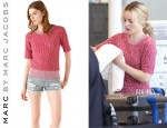 Rachel McAdams' Marc by Marc Jacobs Bobbie Sweater