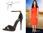 Rachel Weisz' Giuseppe Zanotti Ankle Strap Sandals