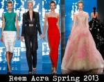 Reem Acra Spring 2013