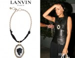 Rihanna's Lanvin Cameo Necklace