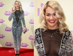 Rita Ora In Emilio Pucci - 2012 MTV Video Music Awards