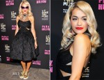 Rita Ora In Donna Karan Atelier - Perez Hilton's One Night In LA