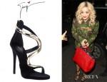 Rita Ora's Giuseppe Zanotti Strappy Sandals