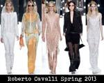 Roberto Cavalli Spring 2013