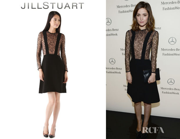 Rose Byrne's Jill Stuart Kasia Dress