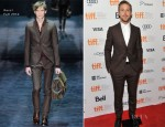 Ryan Gosling In Gucci - 'The Place Beyond The Pines' Toronto Film Festival Premiere