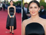Salma Hayek In Stella McCartney - 38th Deauville American Film Festival Closing Ceremony