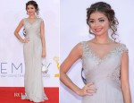 Sarah Hyland In Marchesa - 2012 Emmy Awards