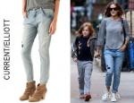 Sarah Jessica Parker's Current/Elliott Slouchy Stiletto Jeans