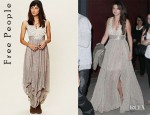 Selena Gomez' Free People New Romantics Pennies From Heaven Dress