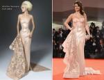 Selena Gomez In Atelier Versace - 'Spring Breakers' Venice Film Festival Premiere