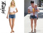 Selma Blair's Siwy Camilla Cut Off Shorts