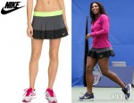 Serena Williams' Nike Pleated Woven Tennis Skirt