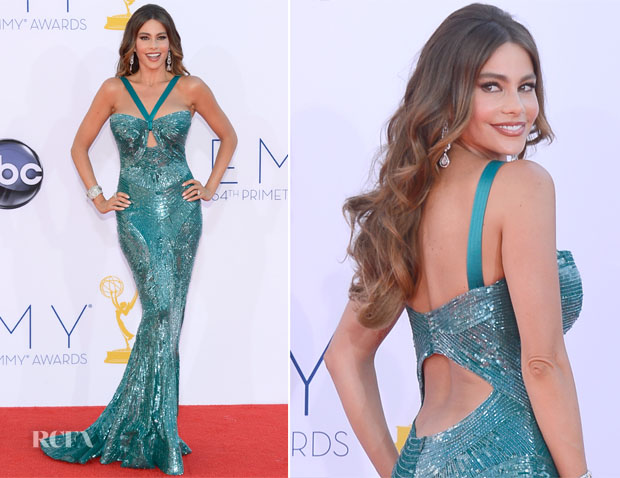 Sofia Vergara In Zuhair Murad - 2012 Emmy Awards