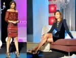 Nieves Alvarez In Salvatore Ferragamo, Andrew Gn, Versace, Missoni, Red Valentino & Dsquared²  – Solo Moda